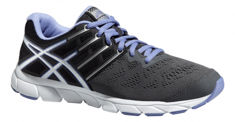 asics chaussures gel evation gris noir femme 37 1 2