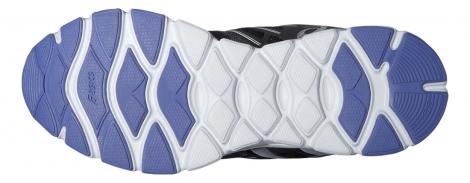 asics chaussures gel evation gris noir femme 37