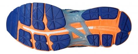 asics chaussures gt 2000 3 bleu orange femme 36