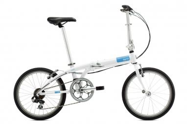 TERN Vélo Pliant Link C7 Blanc/Bleu
