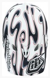 Casque Intégral Troy Lee Designs D3 SQUIRT Composite Blanc/Noir