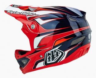 Casque intégral Troy Lee Designs D3 EVO Composite Rouge