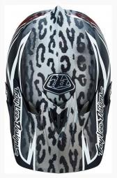Casque intégral Troy Lee Designs D3 SPEEDA Composite Blanc