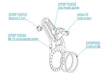 hope guide chaine bb mount cgxc5n