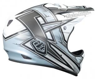 Casco Integral Troy Lee Designs D2 proven Blanc