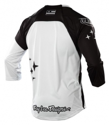 TROY LEE DESIGNS Manches 3/4 RUCKUS REKON Blanc/Noir