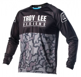 TROY LEE DESIGNS Maillot Manches Longues Enfant SPRINT TLD OPS Midnight