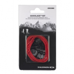 SALOMON QUICKLAGE KIT SHOES (LOW) RED