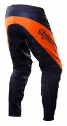 TROY LEE DESIGNS Pantalon SPRINT SOLID Noir/Orange