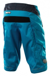 TROY LEE DESIGNS Short MOTO SOLID Bleu