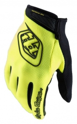 troy lee designs gants enfant air jaune kid m