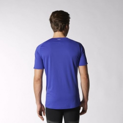 adidas t shirt adizero homme bleu l