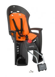 HAMAX Child Bike Seat SIESTA Grey/Orange