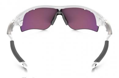 Lunettes Oakley RADARLOCK Blanc Violet Prizm Road