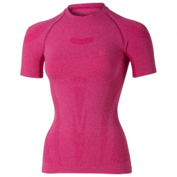asics maillot top ultra pink femme s
