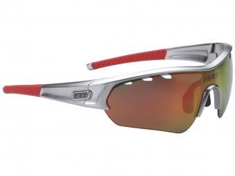 Bbb paire de lunettes select edition special chrome rouge