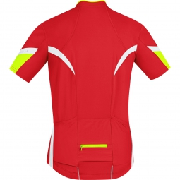 gore bike wear maillot power 2 0 rouge m