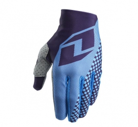 ONE INDUSTRIES 2015 Paire de Gants VAPOR TEXTURE Bleu