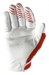 troy lee designs paire de gants longs se rouge s