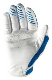 troy lee designs paire de gants longs se bleu s