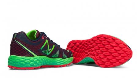 new balance chaussures wt 980 b fresh foam rouge vert femme 37 1 2