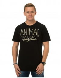 ANIMAL T-Shirt LINER Black