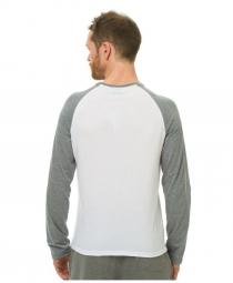 ANIMAL T-Shirt Manches Longues LOCKETS Blanc