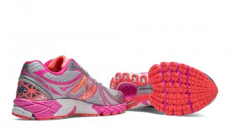 new balance chaussures w 870 v3 b rose femme 37