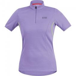 Gore bike wear maillot manches courtes femmes e violet neon xs