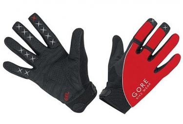 GORE BIKE WEAR Gants ALP-X 2.0 Noir/Rouge
