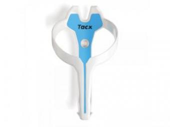 TACX porte bidon FOXY Blanc Bleu