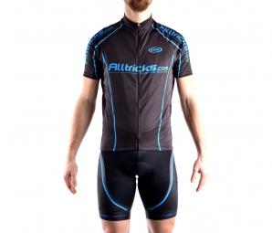 Alltricks by northwave maillot manches courtes sport noir bleu xxl