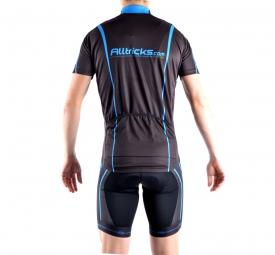 alltricks 2015 by northwave maillot manches courtes sport noir bleu m