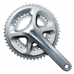 Shimano 105 5800 11 Speed Double Crankset - 52.36t Silver