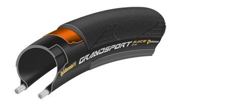 Continental pneu grand sport race 700c noir 25 mm