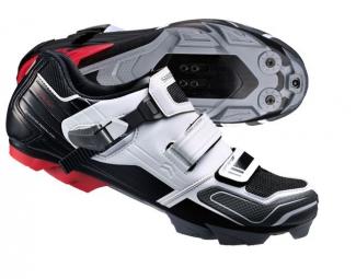 chaussures vtt shimano xc51 noir blanc 43