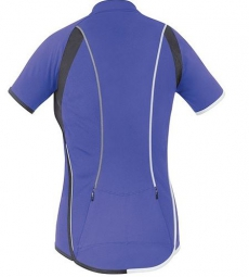 gore bike wear maillot manches courtes femmes countdown 3 0 violet xs