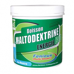 FENIOUX Multi-Sports Boisson Maltodextrine BIO Pot de 500g Gout Neutre
