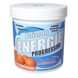 FENIOUX Multi-Sports Boisson Progressive Pot de 500g Gout Orange sanguine