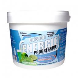 FENIOUX Multi-Sports Boisson Progressive Pot de 1.5kg Gout Citron vert/Menthe
