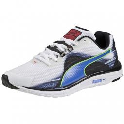 puma chaussures homme faas 500 v4 blanc bleu 45