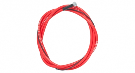 shadow cable de frein linear rouge