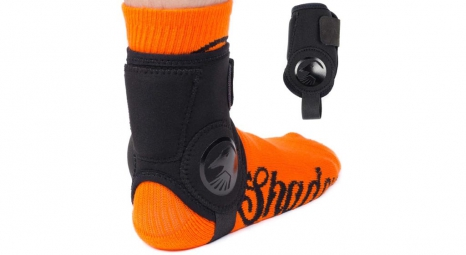 SHADOW Super Slim Ankle Guard Black