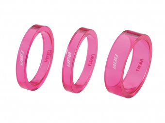 BBB 3 pieces Spacer composite Pink