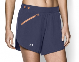 under armour short femme fly fast bleu xs