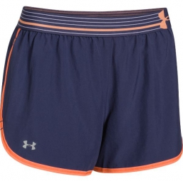 UNDER ARMOUR Short Femmes PERFECT PACE Bleu