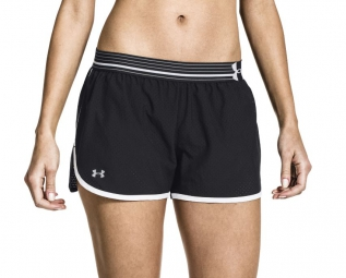 under armour short femmes perfect pace noir xs