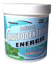 Fenioux multi sports boisson maltodextrine pot de 500g gout menthe