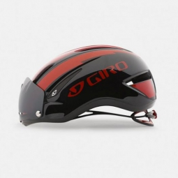 Casque GIRO AIR ATTACK SHIELD Rouge/Noir