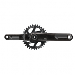sram pedalier xx1 avec plateau direct mount 32 dents q factor 156 mm gxp non inclus noir 175